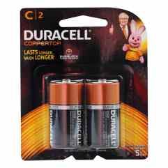 d and c batteries
