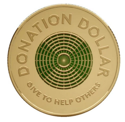 $1 donation coin 2020