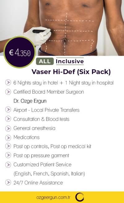 Vaser Hi-Def SixPack