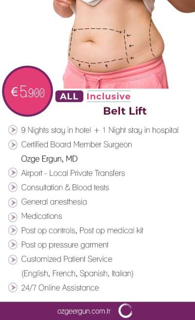 Belt Lift All Inclusive Package