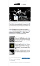 6131 Records Newsletter