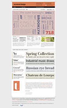 Terminal Design Newsletter