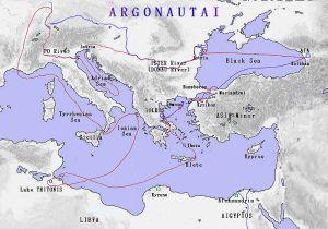argonautica map