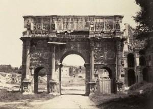 Arco di Costantino, Arch of Constantine ROME, ITALY