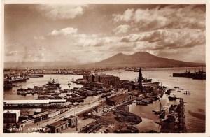 Napoli Naples Italy Il Porto Scenic View