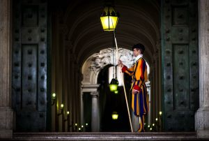Basilica di San Pietro Vatican Rome Pope's Swiss guard