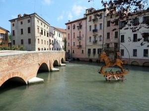 Pria bridge, Treviso Veneto Italy