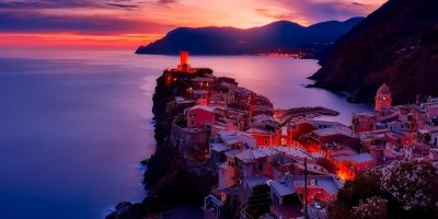 Vernazza Italy sunset cinque terre