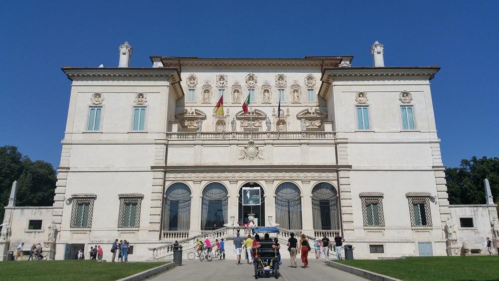 Villa Borghese Galleria Borghese Rome