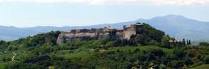 Viterbo Trevinano Lazio Italya