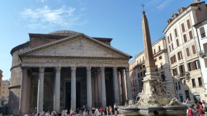 obelisk Rome Pantheon