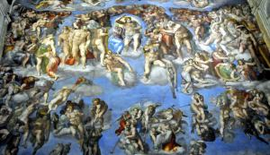 Sistine Chapel is a chapel in the Apostolic Palace, Vatican