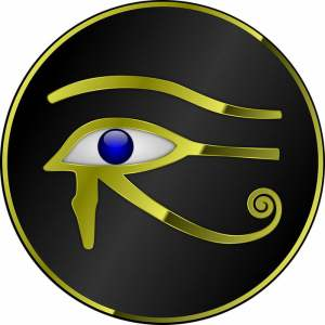 horus eye, eye of the sky