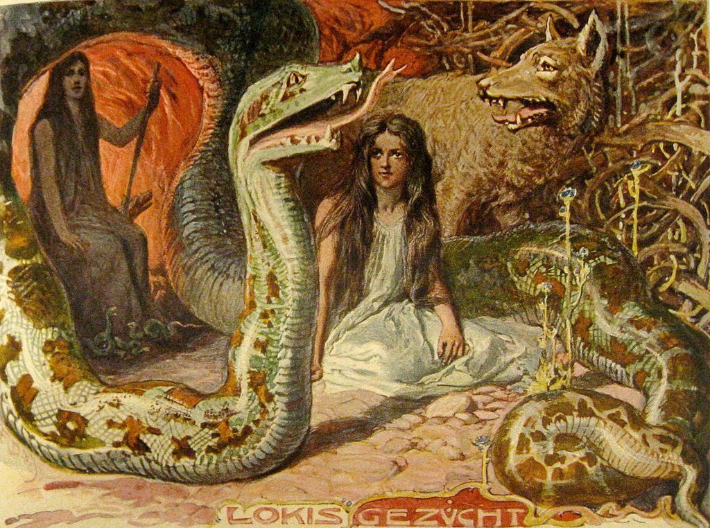 Loki'nin canavar çocukları: Fenrir, Jörmungand ve Hel