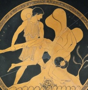Theseus and Sciron