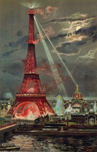 Tour Eiffel, Eiffel Tower Exposition Universelle World's Fair 1889