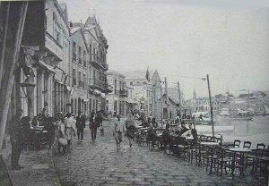 Mytilene (Μυτιλήνη), 1908 postcard