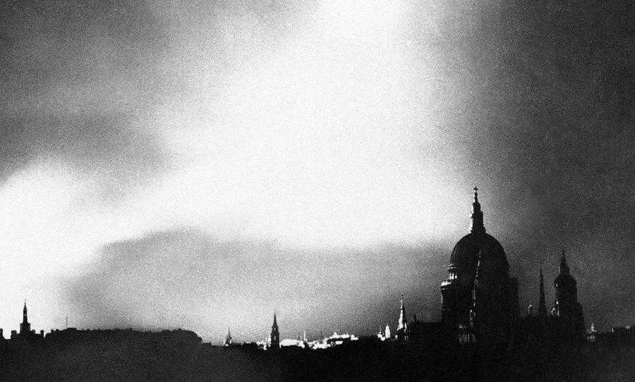 "Luftwaffe pilots who bombed London's East End last night report: ""English fighter cover ragged & uneven, less planes every day- we are beating them."