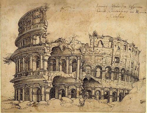 Colosseo, Colosseum, Rome (Martin Van Heemskerck, 1509)