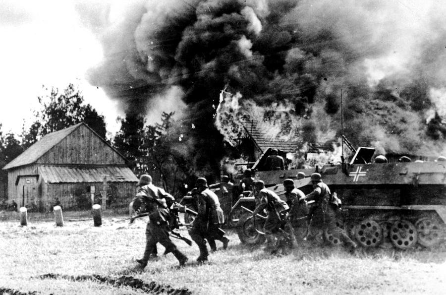 June 22, 1941, Nazi Germany's invasion of the Soviet Union, Operation Barbarossa, begins.4
