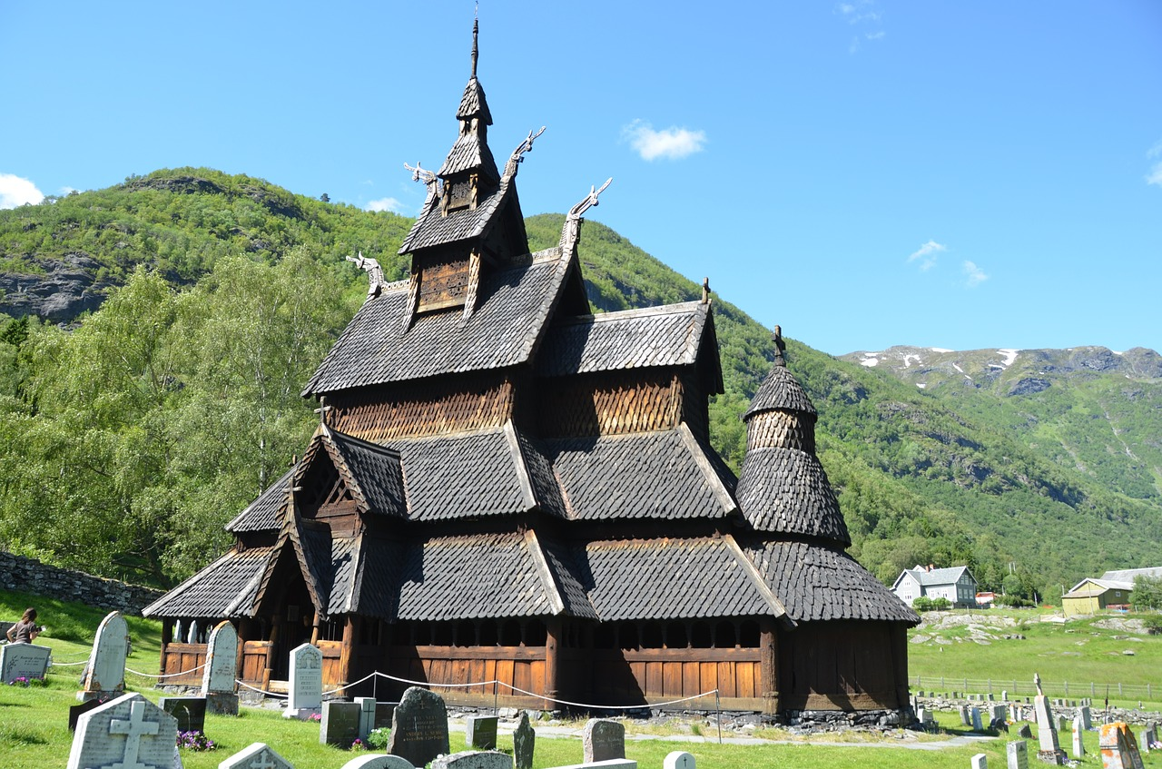 Norway Borgund Church