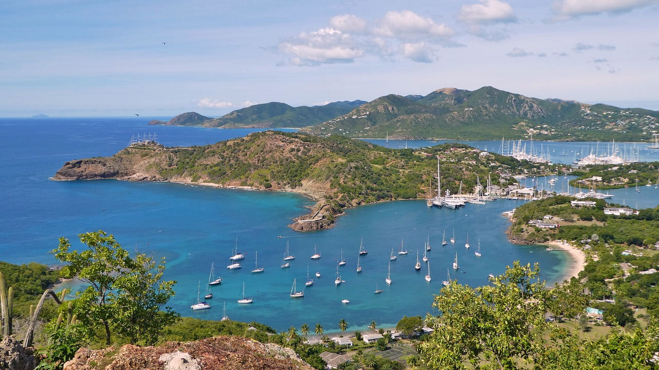Caribbean Antigua Port Ship