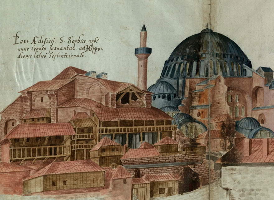 Imperial Library of Constantinople, Trinity College, Cambridge