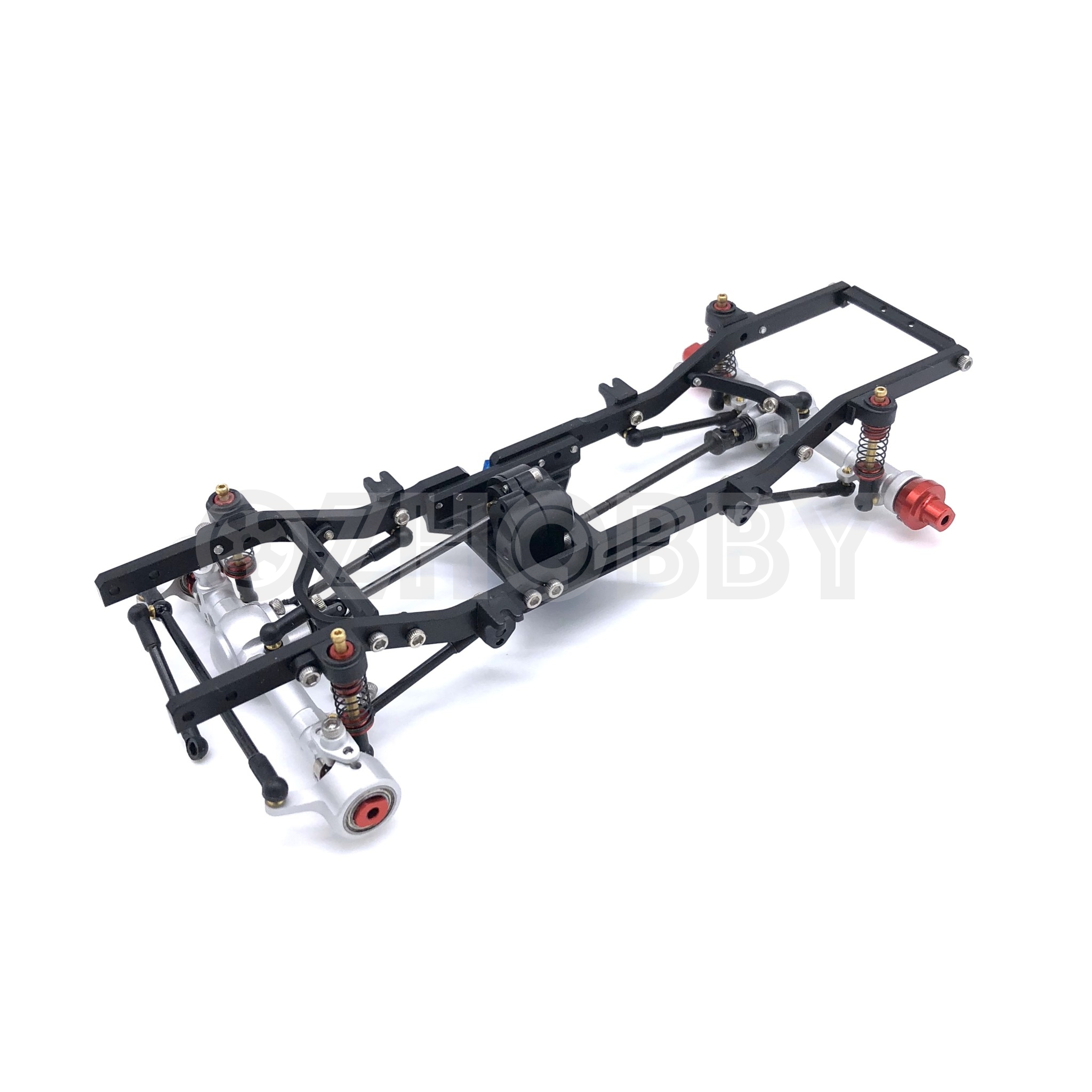Autorc 1 24 Gk24 V3 Micro Rc Crawler Full Metal Chassis
