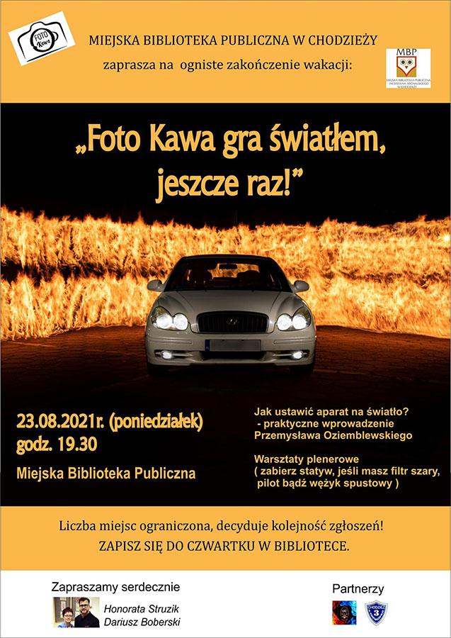 Plakat - zaproszenie na warsztaty