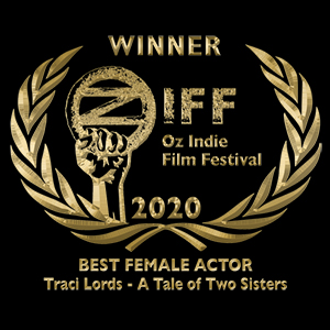 Winner of Best Female Actor Traci Lords