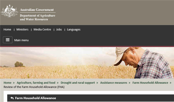 Assistance for farmers