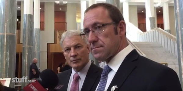 Goff and Little in Canberra