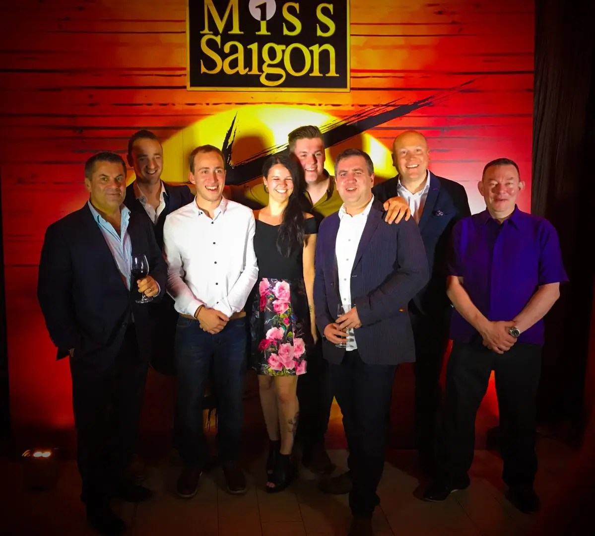 Miss Saigon Lighting Team