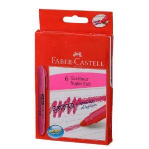 Faber Castell Super Gel Pink Textliner 15 Pack
