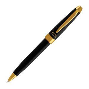 ADD Gel Regent Gold Black Gel Pen