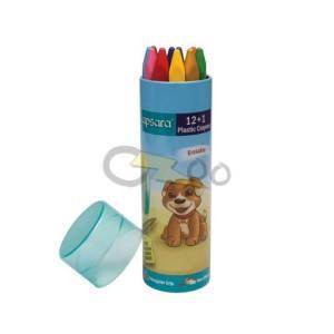 Apsara 12+1 Plastic Crayons