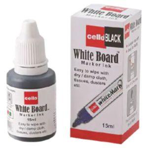 Whiteboard marker black ink
