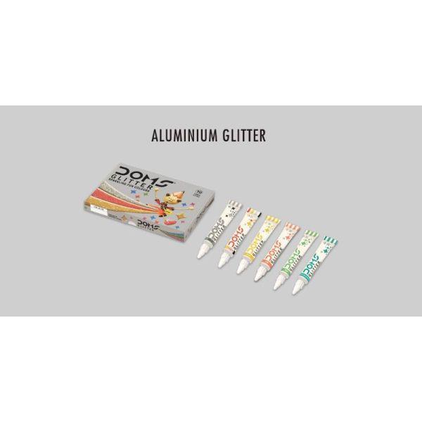 Doms 10 Glitter Tubes 15ml