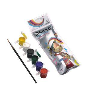 Doms 6 Shades Tempera Colours