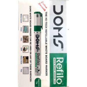 Doms Green Refilo Permanent Marker