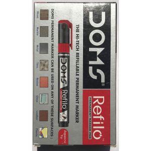 Doms Red Refilo Permanent Marker