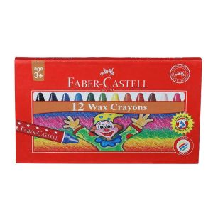 Faber Castell Wax Crayons (12 Shade)