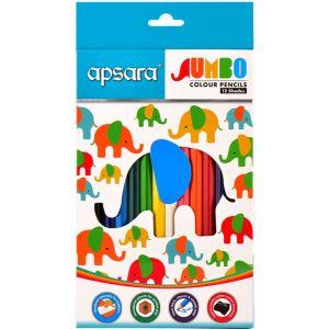Apsara 12 Jumbo Color Pencils