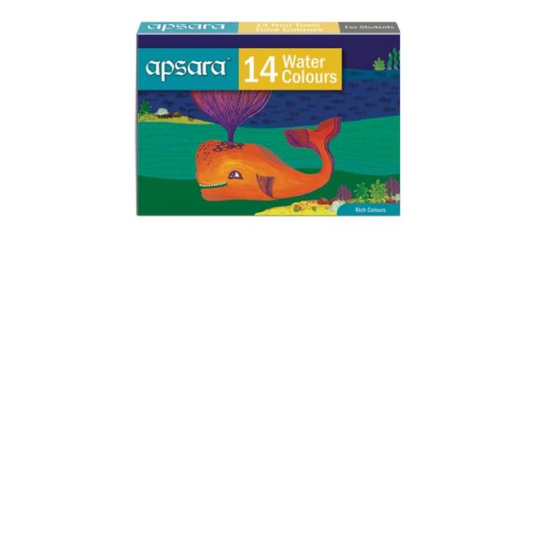 Apsara 14 Water Color Tubes
