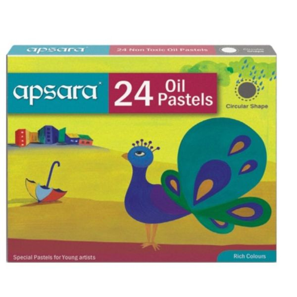 Apsara 24 Oil Pastels