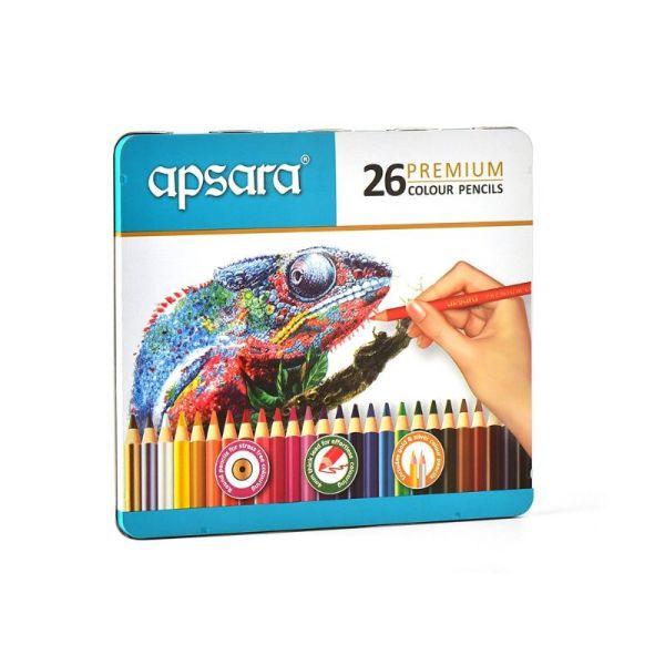 Apsara 26 Premium Color Pencils Box