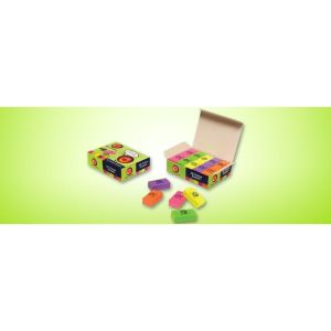 Doms C3 Tri-on Colour Eraser 20 Pcs