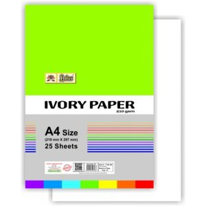 Lotus Ivory Paper (A-4 Size)