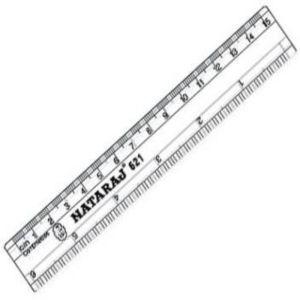 Nataraj 621 15 Cm Scale