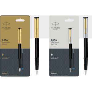 Parker Beta Premium Fountain Pen With Gold Trim